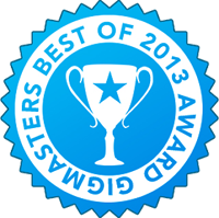 GigMasters Best of 2013 Award